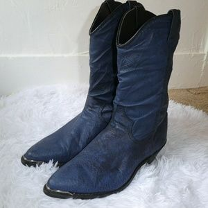 Dingo Blue Western Cowboy boots